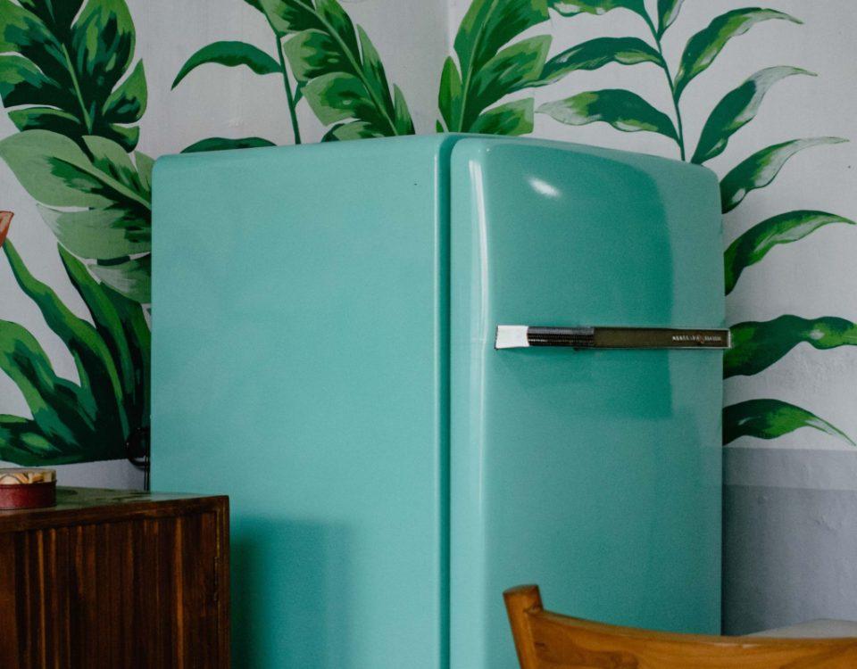 retro køleskab